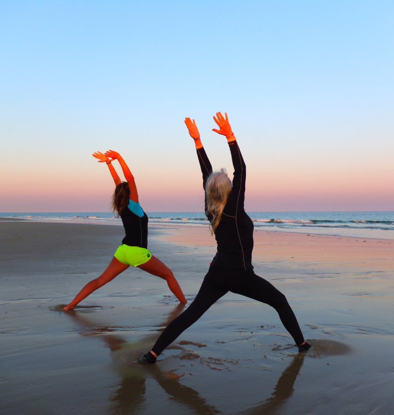 yoga lesson in tavira - cours de yoga tavira